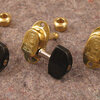 #250 tuner brass model Jazz with ebony D-shape buttons